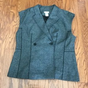 Monroe & Main Tweed Vest NWOT